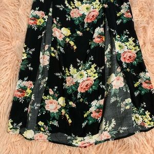 Maxi Skirt with 2 front Slits